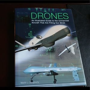 Coffee table book - drones